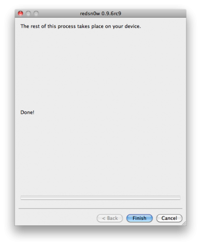 50131 500 - Tutoriel : jailbreak iOS 4.3.2 untethered avec redsn0w Mac