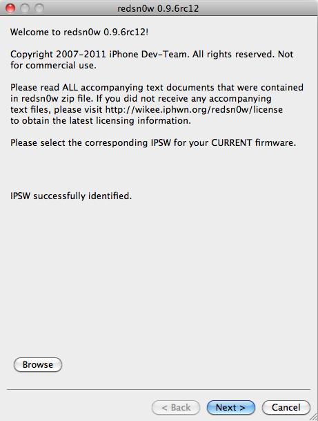 [TUTO] Jailbreak 4.3.1 iPhone 4 RedsnOw Mac