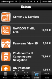 Panorama View 3D pour Navigon 1.8