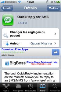 IMG 0315 200x300 - [TEST] Répondre à un SMS sans quitter son appli.