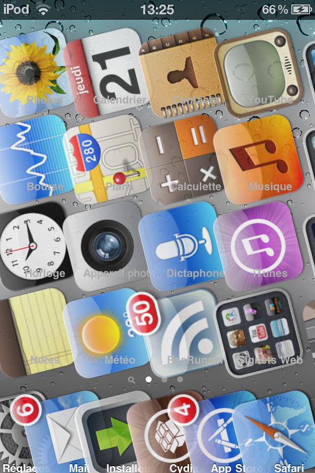 Test : 2 nouveaux tweaks Cydia pour personnaliser son iPhone !