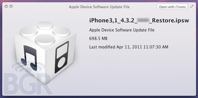 iOS4.3.2
