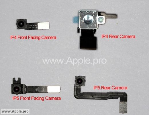 62654 325 iphone 5 le flash se balade - La 5ème génération d'iPhone aurait-elle le flash à droite?