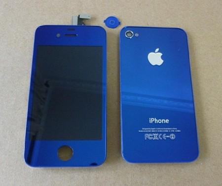 iPhone-4-Bleu-Métal