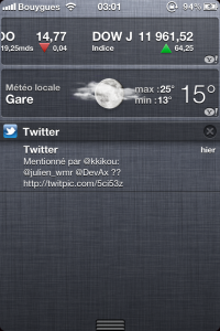 iOS 5.0 : le verdict après quelques jours d'utilisation...