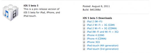 iOS5b5
