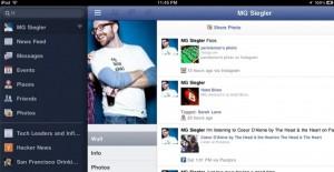 fbipad 300x155 - Facebook pour iPad présentée à la Keynote ?