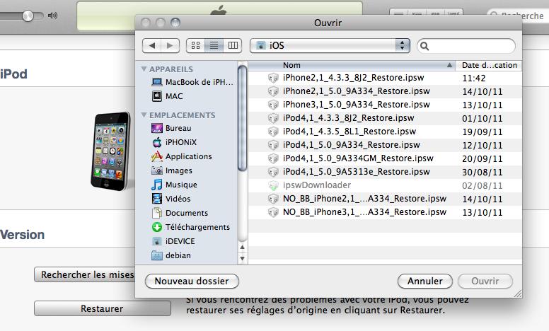 Capture d%E2%80%99%C3%A9cran 2011 10 16 %C3%A0 17.21.14 - [TUTO] Jailbreak & désimlock iPhone iOS 5 avec le baseband iPad