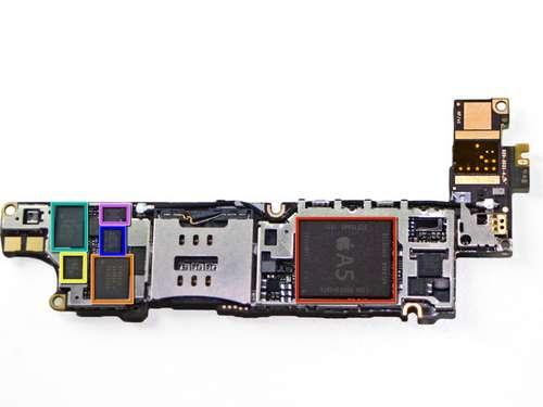 iphone4s31 - Démontage et analyse des composants du 4S!