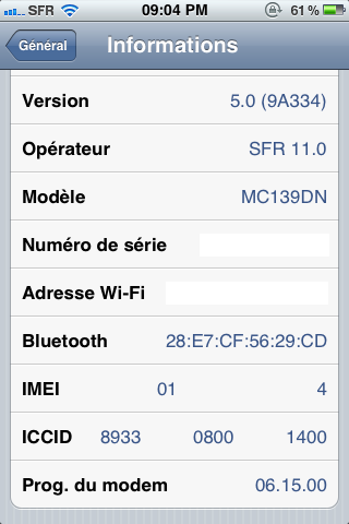 photo2 - [TUTO] Jailbreak & désimlock iPhone iOS 5 avec le baseband iPad