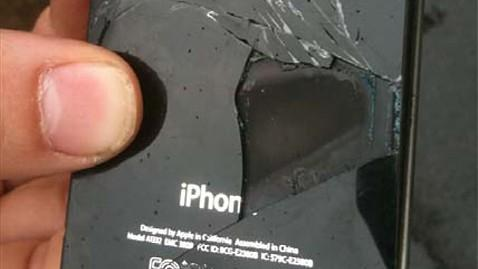iphone brule - un iPhone 4S qui s'enflamme !