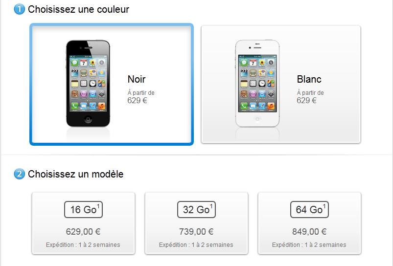 Sans titre - iPhone 4S, pénurie, dépêchez-vous !