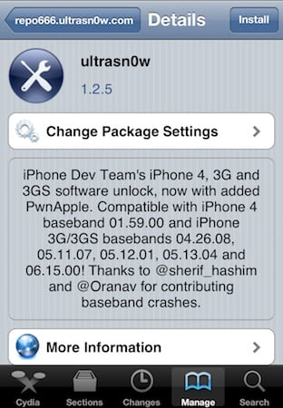 Desimlock iPhone iOS 5.0.1 possible
