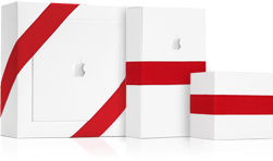 Les fameux paquets cadeaux d'Apple