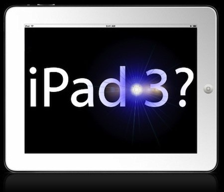 ipad 3 - Présentation du nouvel iPad début Mars!