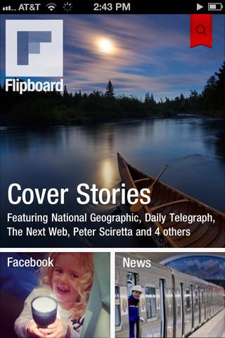 Flipboard, ou la création de magazine sur iPhone !