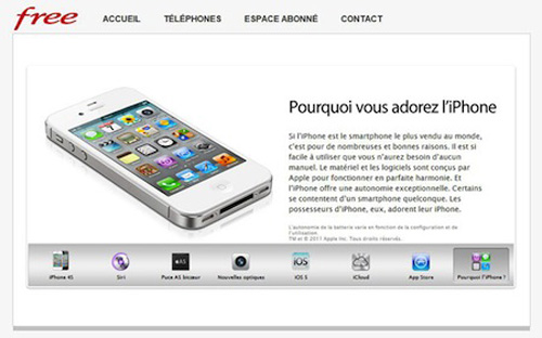 Free iPhone4s - L'iPhone 4S bientôt chez Free Mobile...