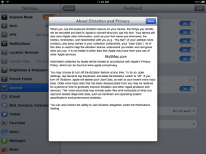 Siri sur l'iPad 3 ?