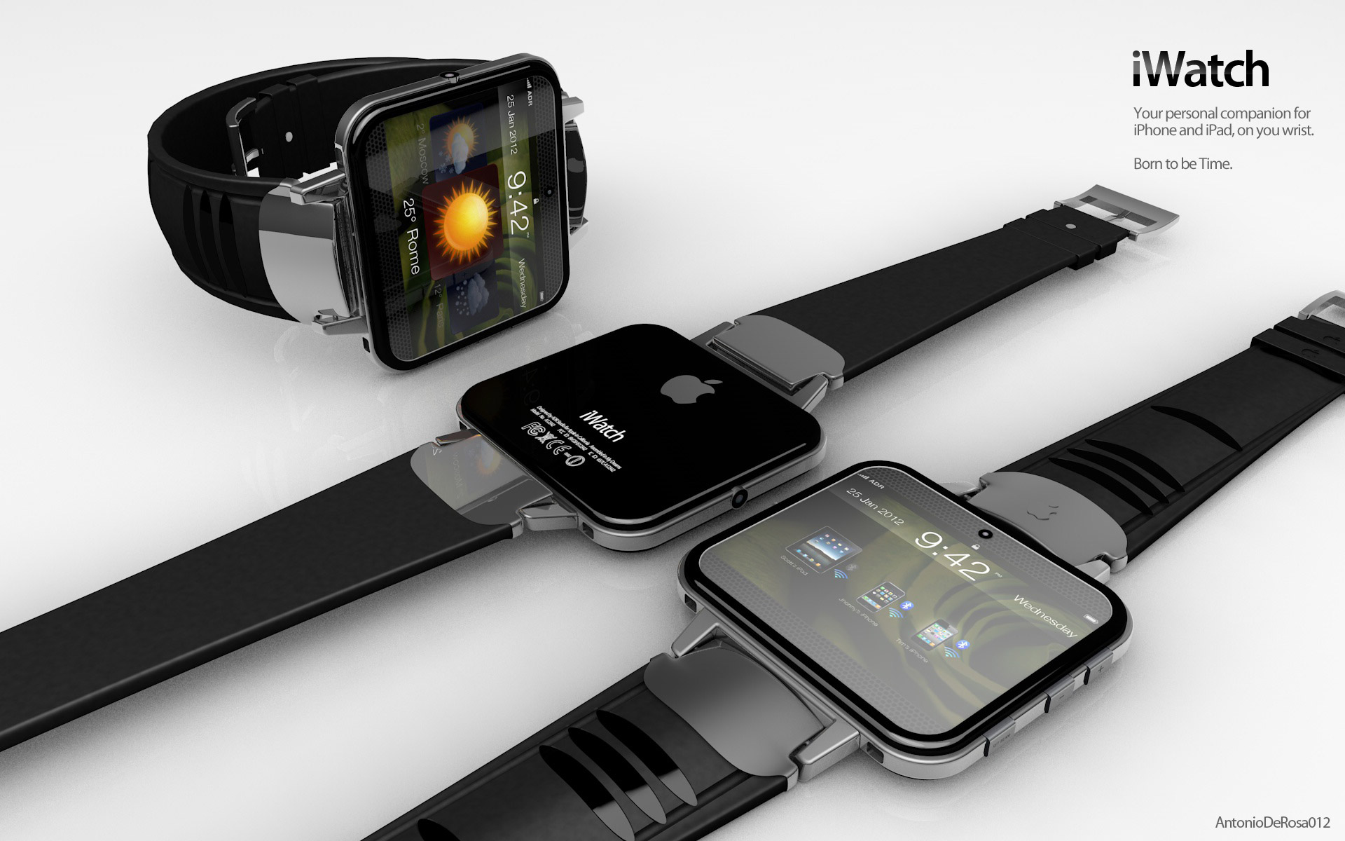 iWatch 06 - Apple iWatch : déjà des prototypes en tests ?