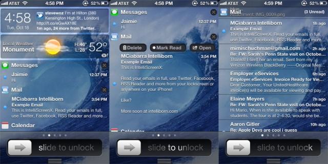 Présentation d'une app merveilleuse, IntelliScreenX