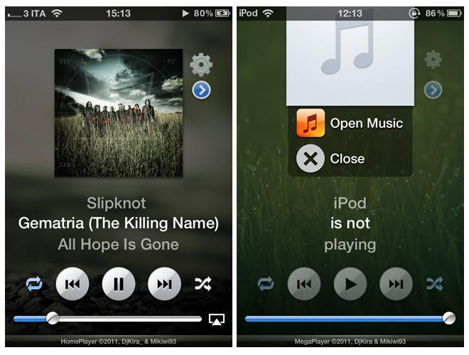 HomePlayer2 - [TWEAK] Homeplayer : Contrôle de l'iPod amélioré