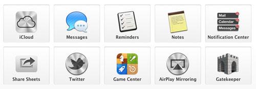 OSX Lion Mountain - Apple dévoile Mac OS X 10.8 : Moutain Lion