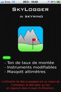 1 200x300 - [TEST] Skylogger, une appli très propre pour le vol libre