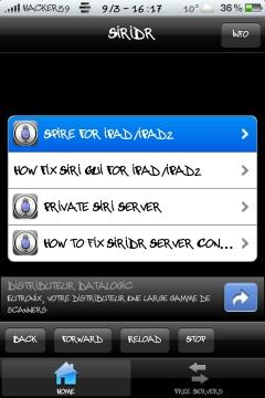 20120309 183738 - [TWEAK] SiriDR passe en Version 1.0