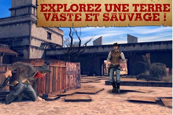 Six Guns iPhone iPad - Test de Six Guns