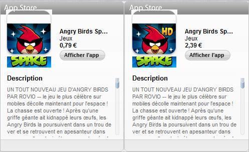 sddd - Angry Birds Space : 10 millions de téléchargements en 3 jours