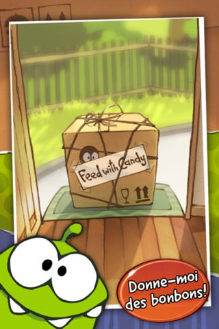 L'application du samedi 28 avril 2012 est Cut The Rope