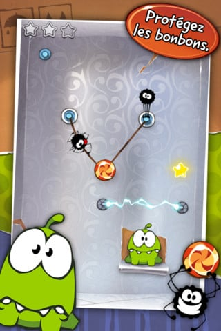 cuttherope 4 - L'application du samedi 28 avril 2012 est Cut The Rope