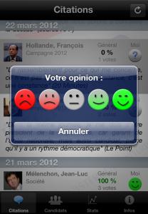 iLections : Pour qui voterez-vous depuis votre iPhone ?