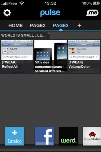 1 200x300 - Pulse : lecteur de Flux RSS iPhone, iPad et iPod Touch