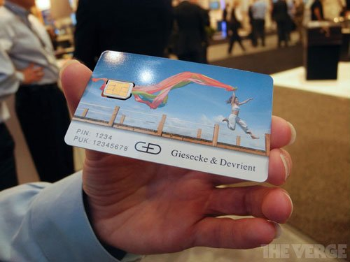 Nano sim Apple 2 - La Nano-Sim d'Apple dévoilée au salon CTIA