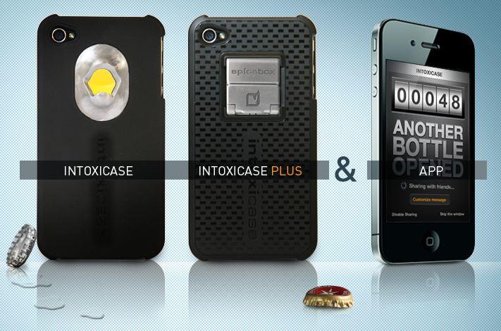 [INSOLITE] Intoxicase : LA coque iPhone 4/4S qui décapsule et qui compte les bières !