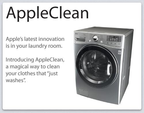 AppleClean, laver son linge façon Apple !