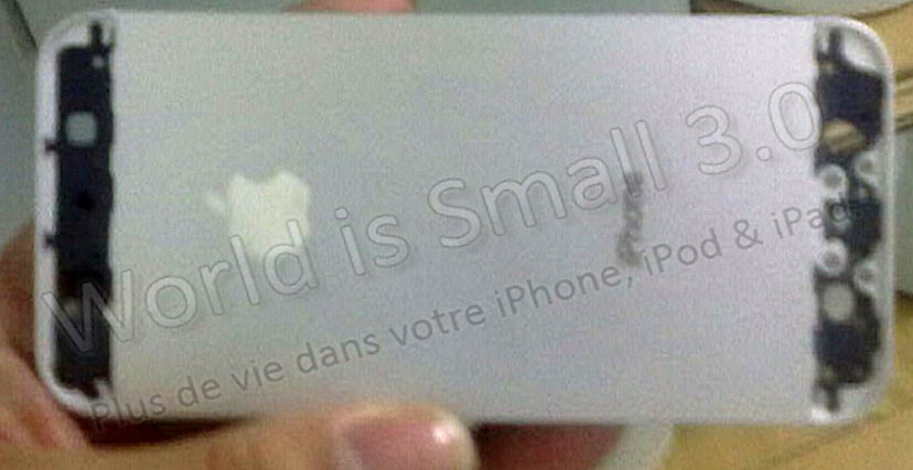 iPhone 5 Jul - Exclu WIS: La photo de la coque arrière de l'iPhone 5 !