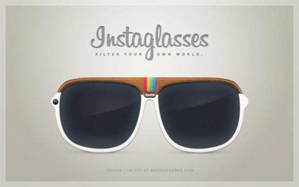 Instaglasses : les lunettes Instagram