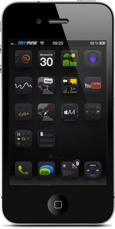 Black UPS HD