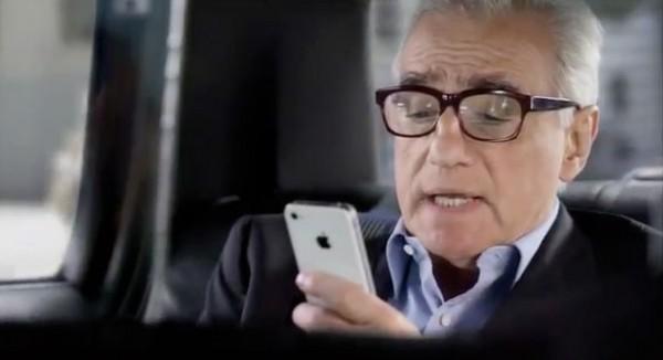 Apple : nouvelle publicité Siri avec Martin Scorsese