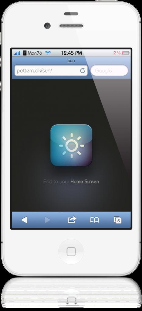Sun 1 - [APPLICATION] Sun une Web App meteo d'un nouveau genre !