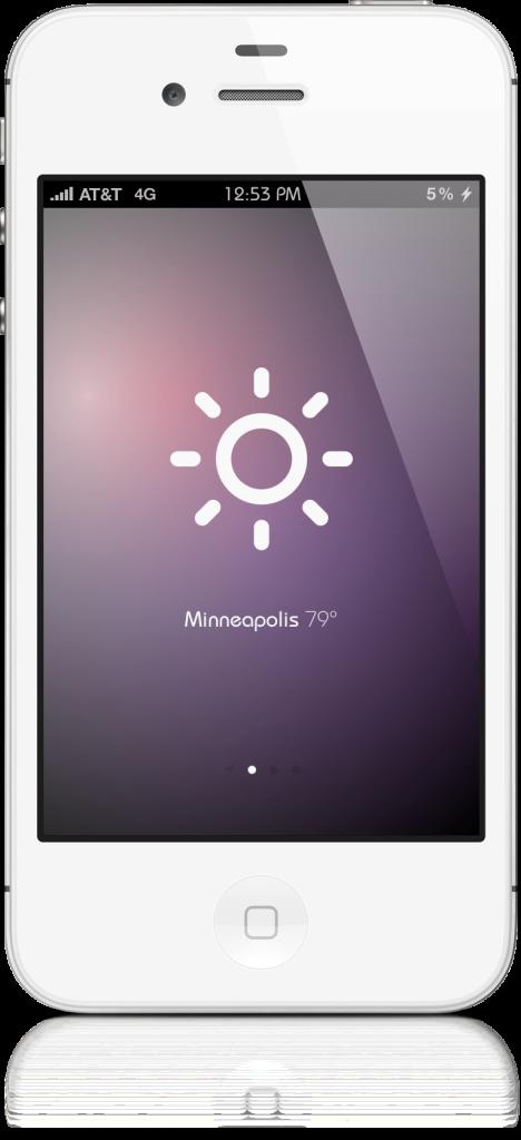 Sun 3 - [APPLICATION] Sun une Web App meteo d'un nouveau genre !