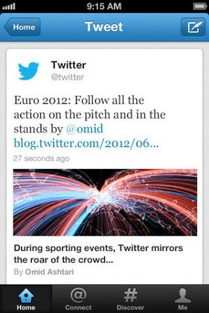 Twitter pour iOS 2 - Application : la nouvelle version de Twitter est disponible
