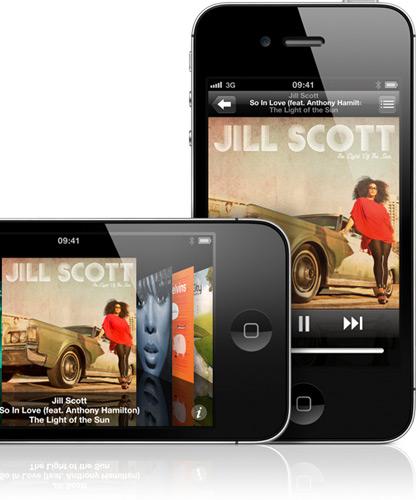 music browse - L'iPhone remplace baladeurs et réveils