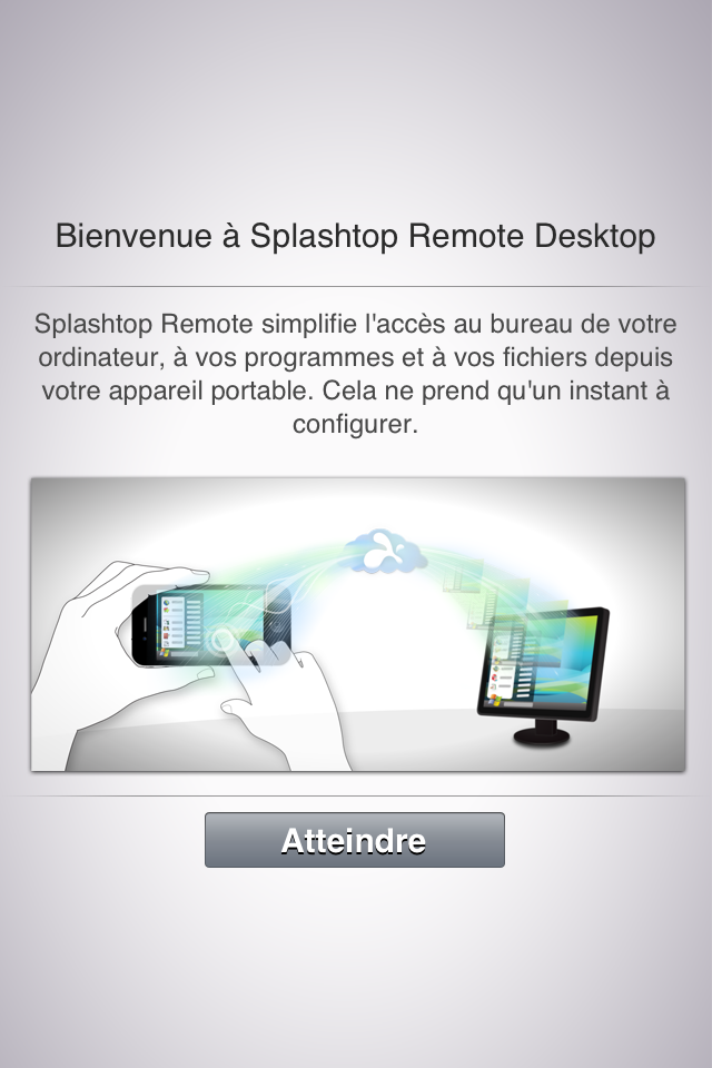 photo 2 - Splashtop Remote Desktop : contrôler son PC/MAC depuis son iDevice.