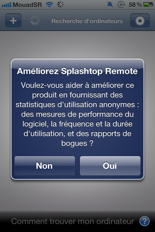photo 5 - Splashtop Remote Desktop : contrôler son PC/MAC depuis son iDevice.