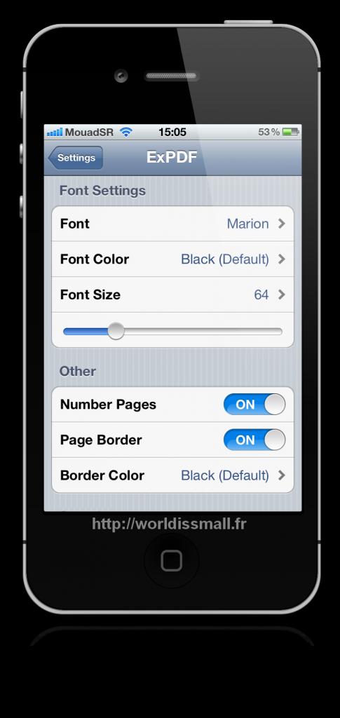 01 485x1024 - [TWEAK] ExPDF: Convertir vos notes en fichiers PDF