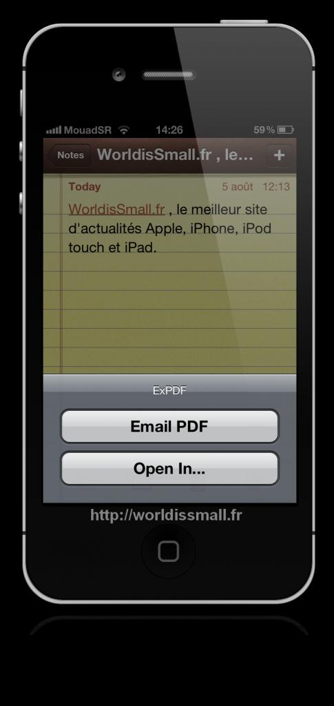 22 485x1024 - [TWEAK] ExPDF: Convertir vos notes en fichiers PDF