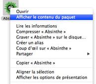ab - TUTO: Ouvrir Absinthe 2.0.4 sur Mac OS 10.8 Mountain Lion